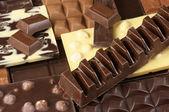 çeşitli çikolata — Stok fotoğraf