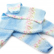 Baby's knitted clothes — Stock Photo