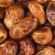 Dried dates close-up — Stock Photo #12606857
