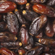 Dried dates close-up — Stock Photo