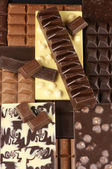 Assorted chocolate — Stock Photo