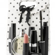 Cosmetic set and bag — Stockfoto