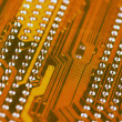 Circuit board close-up - Stok fotoraf