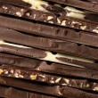 Assorted chocolate close-up - Zdjcie stockowe