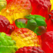 Colorful candy close-up - Stock Photo