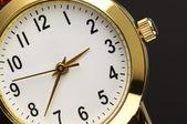 Wrist watch close-up — Stock Photo