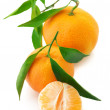 Royalty-Free Stock Photo: Fresh tangerines