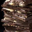 Stock Photo: Assorted chocolate