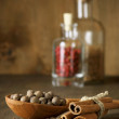 Bodegón con especias — Foto de Stock