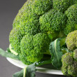 Broccoli on plate — Stock Photo #24178609