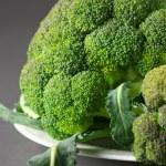 Broccoli on plate — Stock Photo