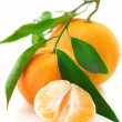 Fresh tangerines — Stock Photo