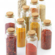 Spices in bottles — Stock Photo #26226981