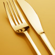 Fork and knife — Stock Photo #26523203