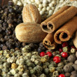 Various spices close-up — Stock Photo