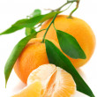 Stock Photo: Fresh tangerines