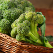 Broccoli in basket — Stock Photo #29866117