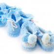 Various baby's bootees — Stock Photo #30013085
