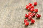 Pink peppercorn close-up — 图库照片