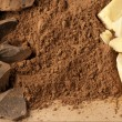 Stock Photo: Chocolate ingredients