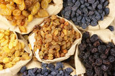 Assorted raisins — Stock Photo