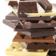 Assorted chocolate — Stock Photo