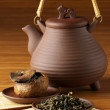 Stock Photo: Teand teapot