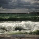 Stormy landscape — Stock Photo