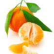 Fresh tangerines — Foto Stock