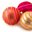 Christmas baubles — Stock Photo