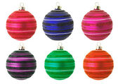 Christmas baubles — Photo