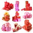 Stock Photo: Gifts set