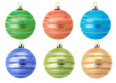 Christmas baubles — Stock fotografie