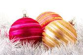 Enfeites de Natal — Fotografia Stock