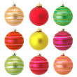 Stock Photo: Christmas baubles