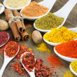 Still life with spices — Stock Photo