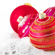 Christmas baubles — Stock Photo #36089077