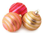 Christmas baubles — Foto de Stock