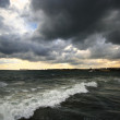 Stock Photo: Stormy landscape