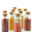 Spices in bottles — Stock Photo #38831049
