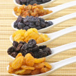 Assorted raisins — Stock Photo #39625961