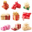 Collage of various gifts — Stock Photo #3995832