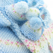 Baby's knitted clothes — Foto de stock #40941977