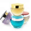 Cosmetic creams — Stock Photo
