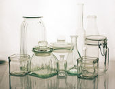 Glassware collection — Foto Stock