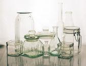 Glassware collection — Stock Photo