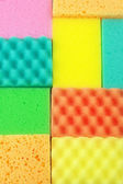Colorful sponges — Stock Photo
