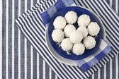 Coconut candies — Stock Photo
