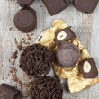 Assorted chocolate candies — Stock Photo #47693047