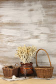 Rustic still life — Stock Photo